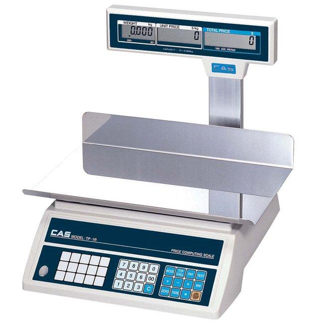 ترازو-فروشگاهی-CAS-مدل-TP-R